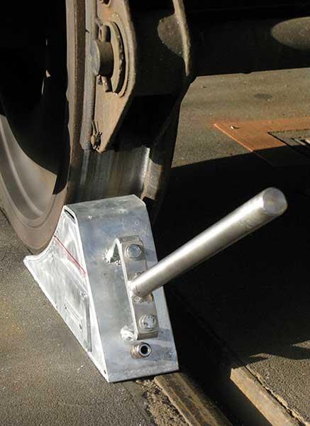 Kabelloser Radkeil für Gleisfahrzeuge